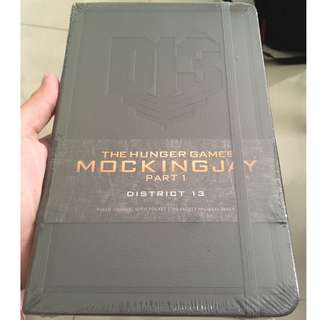The Hunger Games: District 13 Hardcover Ruled Journal