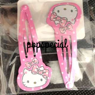 LAST SET Hello Kitty Hair Clip