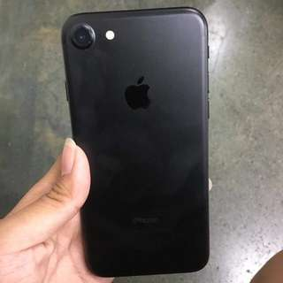 FOR SWAP IPHONE 7 MATTE BLACK 128gb FU