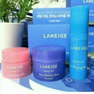 Laneige sleeping kit