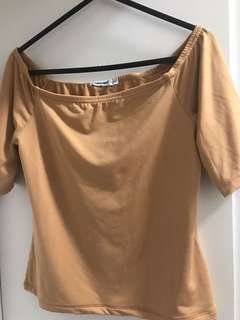 Valley girl nude brown size 10