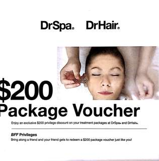 DrSpa/DrHair Package Voucher