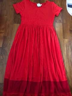 ASOS Maternity Red Dress