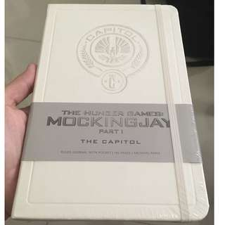 The Hunger Games: Capitol Hardcover Ruled Journal