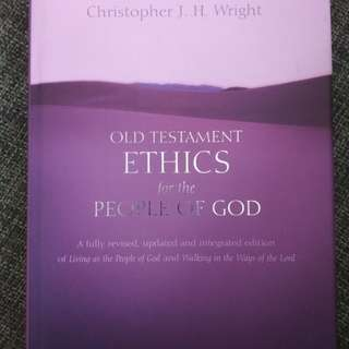 Old testament ethics for the people of God by Christopher Wright