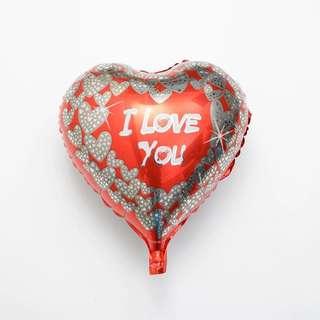 E87 - E93 happy birthday I love you Foil balloon