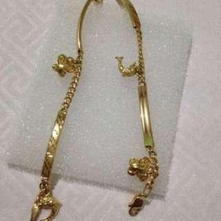 Saudi gold 18k bracelet jewelry