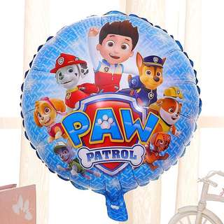 B97 Happy birthday foil balloon paw patrol dog