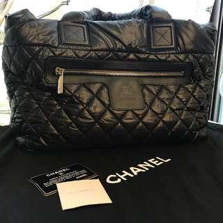 Chanel 經典黑空氣包(大)