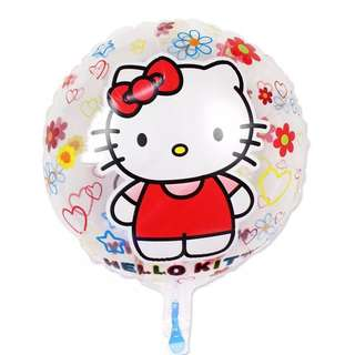 B75 Happy birthday foil balloon hello kitty
