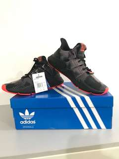 Adidas phopare bleached black size us8.5