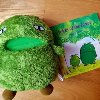 Book and Hand puppet set