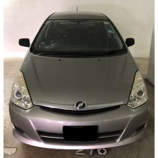 Toyota Wish (UBER & GRAB Enabled)