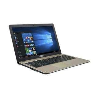 Laptop Asus X441UA kredit promo gratis 1 bulan angsuran core i3 6006U intel HD win 10 Original HDD 1Tb