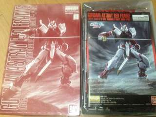 P.Bandai MG GUNDAM ASTRAY RED FRAME Limited edition (unbuilt)