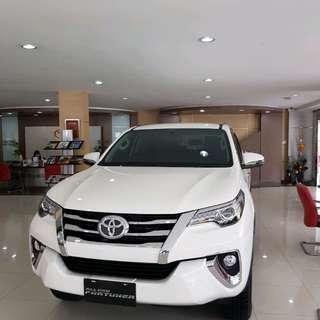 Ready Toyota Fortuner VRZ Bunga 0%