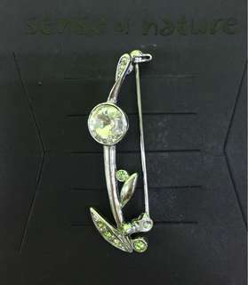 Women 18K Gold Plated Brooches