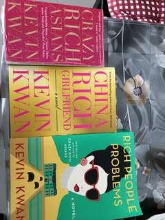 Preloved books by kelvin kwan