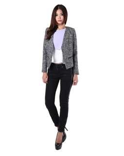MGP Label- Kaela Tweed Jacket in Grey