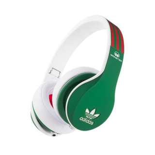 Monster Headphones - Adidas Green