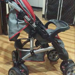 baby 1st stroller (red)