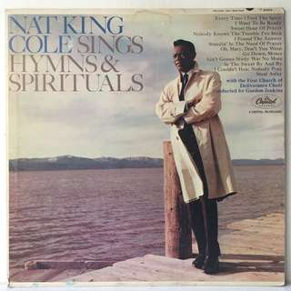 Nat King Cole ‎– Sings Hymns And Spirituals (1965 USA Pressing - Vinyl is Near Mint)