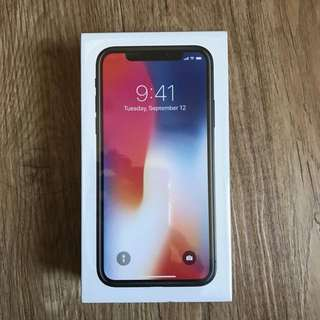 iPhone X 64GB Brand New In Sealed Box Open Line!