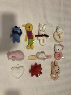 Preloved baby rattles from Japan *20 pcs