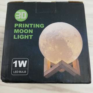 3D Printing Moon Light