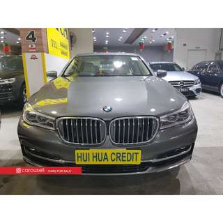 BMW 7 Series 740Li Sunroof