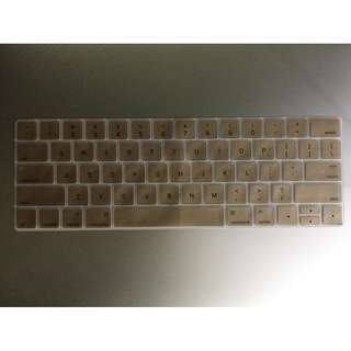 """13"""" / 15"""" Touch Bar Keypad Cover / Skin (Gold colour)"""