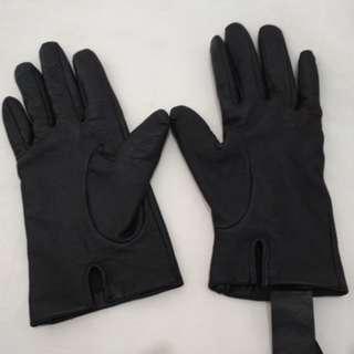 Sarung tangan kulit zara