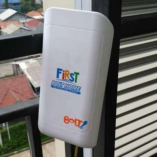 Wifi rumah bolt home unlimited