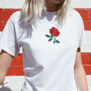 brandy melville alton rose top
