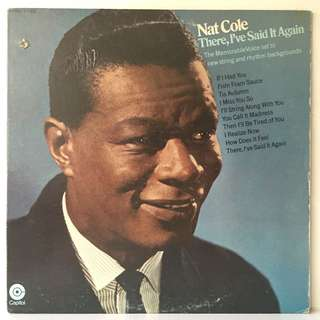 "Nat ""King"" Cole ‎– There, I've Said It Again (1969 USA Original - Vinyl is Very Good)"