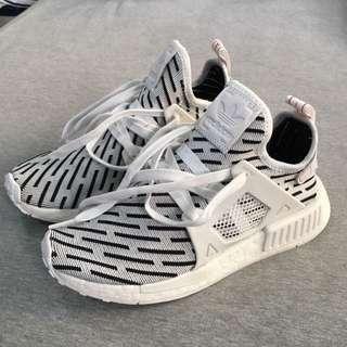 (自售)adidas NMD_XR1 PK 黑白斑馬 限定款