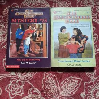 Baby Sitters Club #7, Mystery #23
