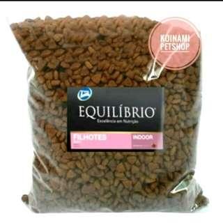 Equilibrio kitten repack 500 gr / makanan kucing / cat food / aksesoris hewan