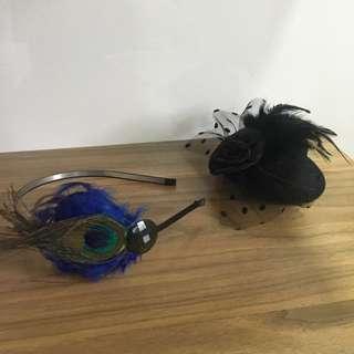 Headband and hair clip
