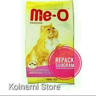 Meo persian repack 500 gr / makanan kucing / cat food / aksesoris hewan