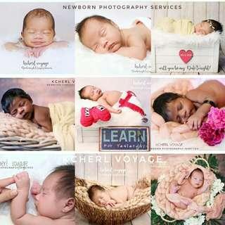 Newborn/kids photography services