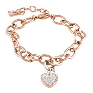 50% Off Brand New Authentic Swarovski Heart Charm Set Worth S$167