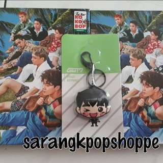[QYOP] STOCK CLEARANCE- EXO THE WAR AND GOT7 JINYOUNG VOICE KEYRING