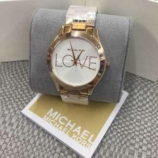 M K. Watch authentic