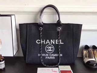 Chanel Canvas Tote Bag