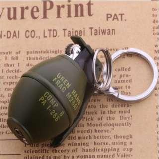 No Gas Grenade Keychain