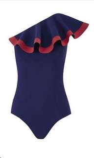 One piece ruffle swimsuit