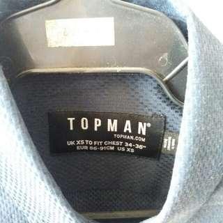 Topman long sleeves button down shirt