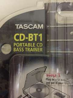 Tascam CD bass guitar trainer