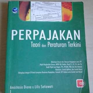 Buku perpajakan + cd
